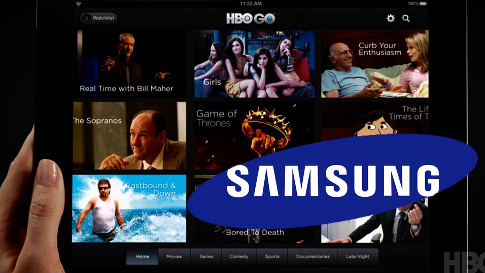 HBO på Samsung-dingser