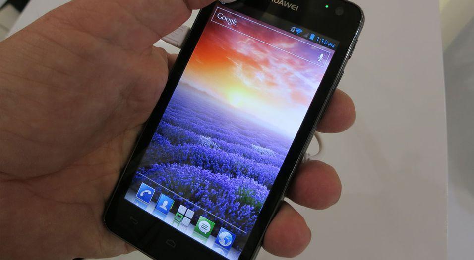 SNIKTITT: Treffsikkert fra Huawei