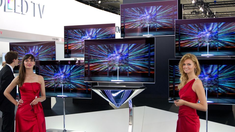 LGs OLED-TV er ferdigstilt