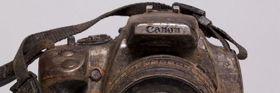 Kamera lå tre år i en elv