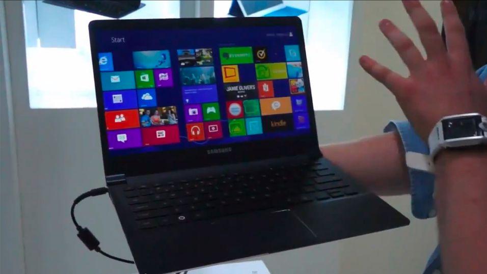 Den nye 9-serie-Ultrabooken fra Samsung har en oppløsning på 2560 x 1440 piksler.
