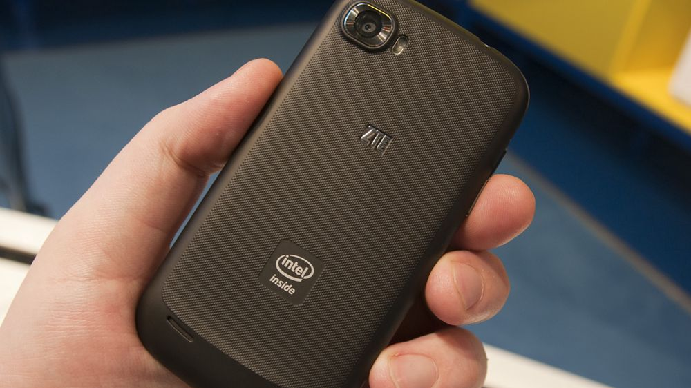 Intels kjennemerke er å finne på svært få mobiler. ZTEs Grand X In er en av få Intel-baserte telefoner som har funnet veien til Norge.