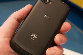 ZTE Grand X IN var den første mobiltelefonen med Intel-prosessor.