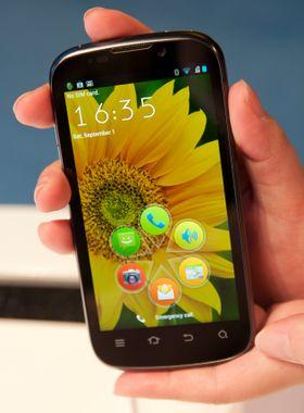 ZTE Grand X IN er foreløpig den eneste Intel-telefonen som er bekreftet til Norge. Den ventes på markedet tidlig neste år.