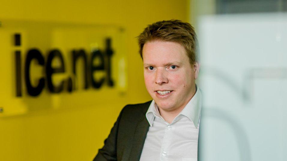 Eivind Helgaker i Ice skal levere mobilt bredbånd til alle TDCs bedriftskunder.
