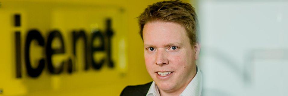 Ice-sjef Eivind Helgaker har vært involvert i søsterselskapet Telco Datas kjøp av spektrum og ser mulighet til å produsere mobildata svært kostnadseffektivt.