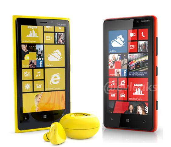 Nye bilder av Lumia-mobilene.