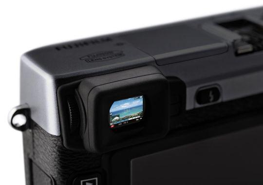 Fujifilm X-E1s søker.