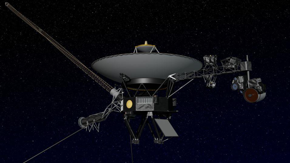 Voyager 1 ligger an til å bli første menneskeskapte objekt som forlater solsystemet.