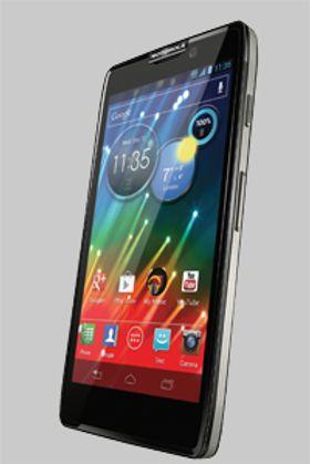 MOTOROLAS RAZR HD: Denne telefonen er ikke hva Google hadde i tankene da de kjøpte Motorola.