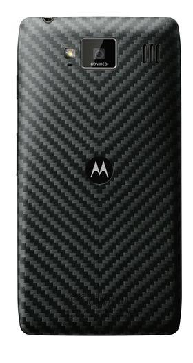 Baksiden av Motorola Razr HD er laget i kevlar.