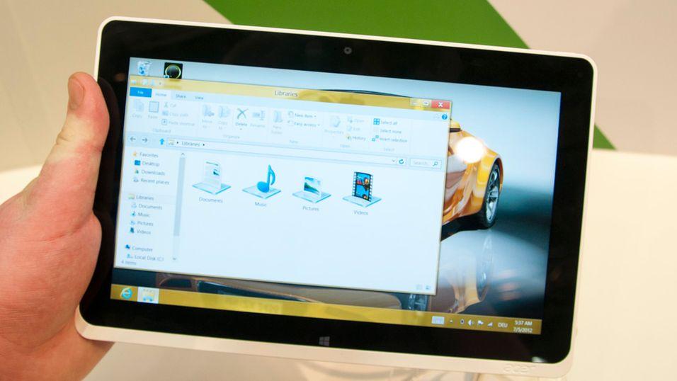SNIKTITT: Fullverdig PC i et nettbrett