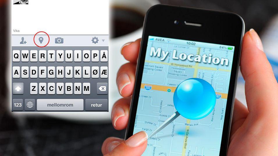 TIPS: Bruk Facebook uten GPS-tagg