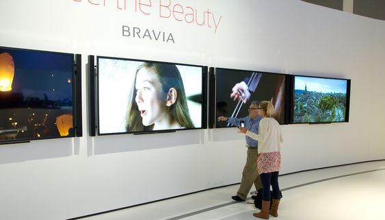 Sonys 84-tommers 4K-TV vekker interesse hos de fleste.