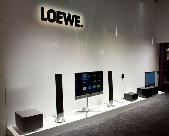Slik kan det nemlig se ut når Loewe har fått pakket ut godsakene.