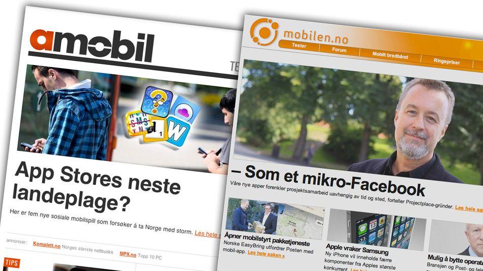 Slik blir nye Mobilen.no og Amobil.no