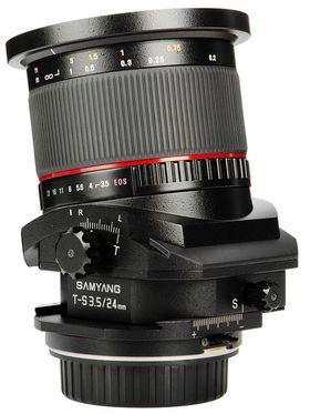 Samyang T-S 24mm f/3.5 ED AS UMC.