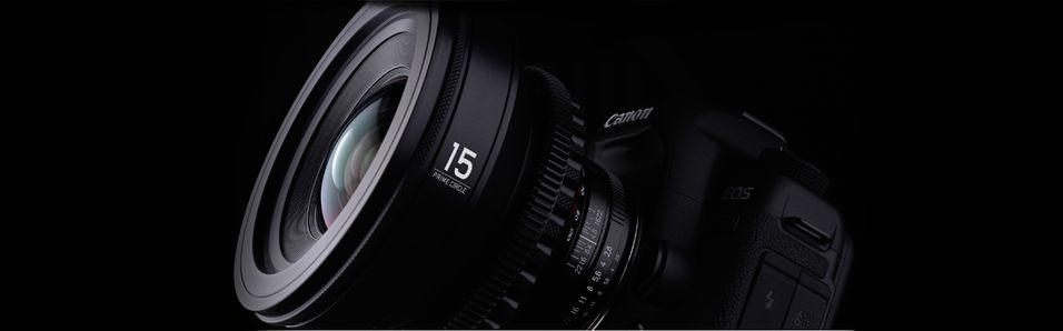 Snasent filmobjektiv til Canon og Nikon