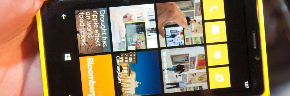 Windows Phone 8 har fått lanseringsdato