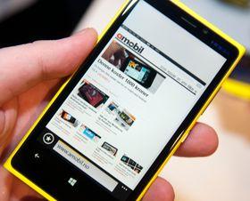 Windows Phone 8 fremstår som lynraskt – iallfall de delene av det vi har fått prøve.