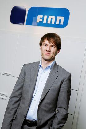 Christian Prinzell Halvorsen, administrerende direktør i Finn.no.
