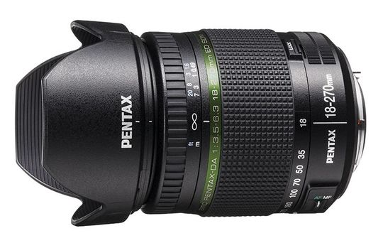 Pentax DA 18-270mm.