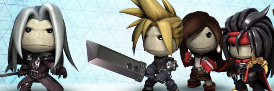 Final Fantasy VII gjenskapt i LittleBigPlanet 2