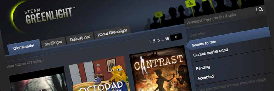 Nå er de første Greenlight-spillene plukket
