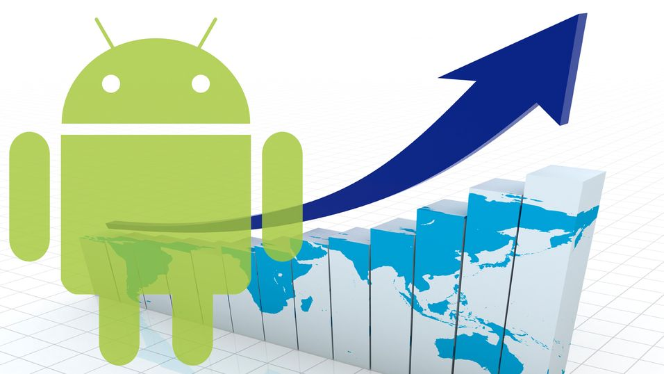 1 milliard Android-mobiler i 2013