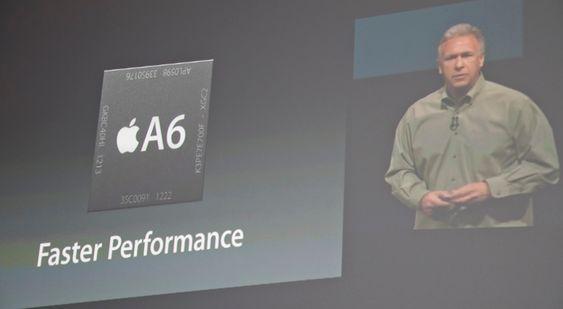 iPhone 5 benytter Apples nye A6-brikke.
