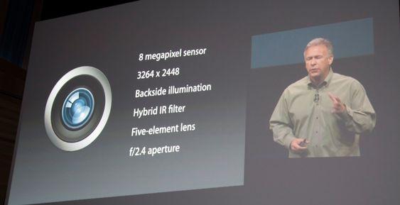Kameraet i iPhone 5 har fått en rekke nye funksjoner, blant annet panoramafunksjon.