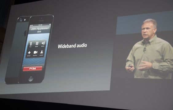 Wideband Audio.