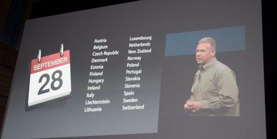 iPhone 5 kommer til Norge den 28. september.