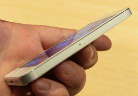 Den nye iPhone-en har blitt slankere.