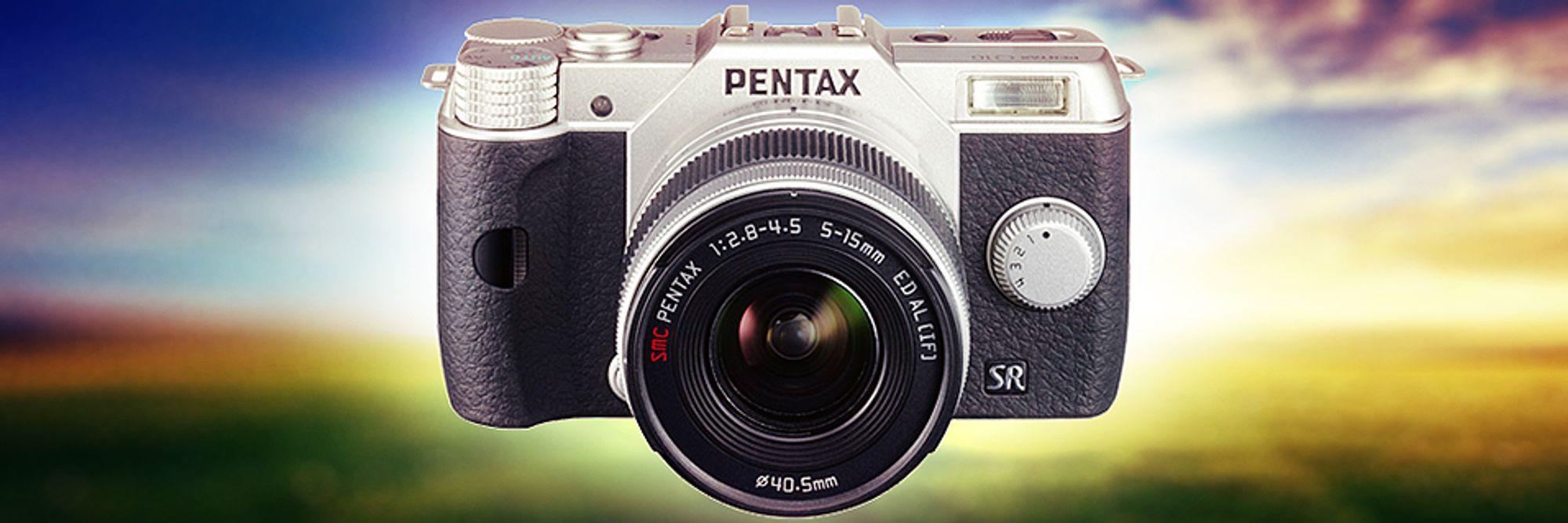 Her er Pentax Q10