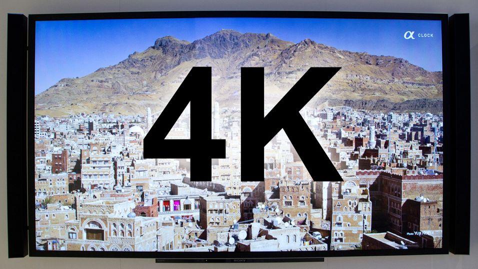 Sonys 4K-TV fra IFA 2012.