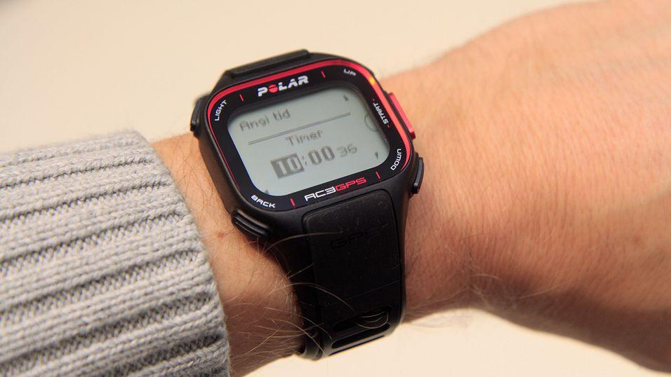 Lanserte slank GPS-klokke