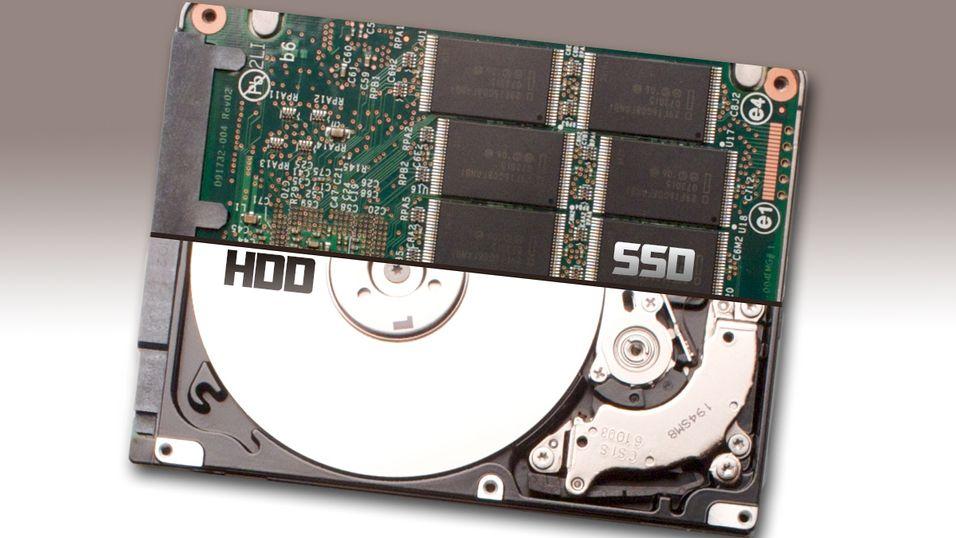 Hybriddisker, en lagringsenhet som benytter seg av deler fra både harddisker og SSD-er, kommer til å ta av i 2013, ifølge analytikere.