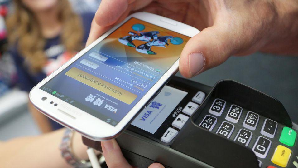 Betale med mobil app