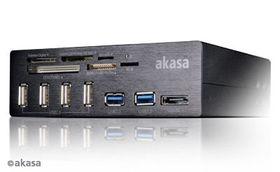 Akasa InterConnect Pro er en smart minnekortleser.