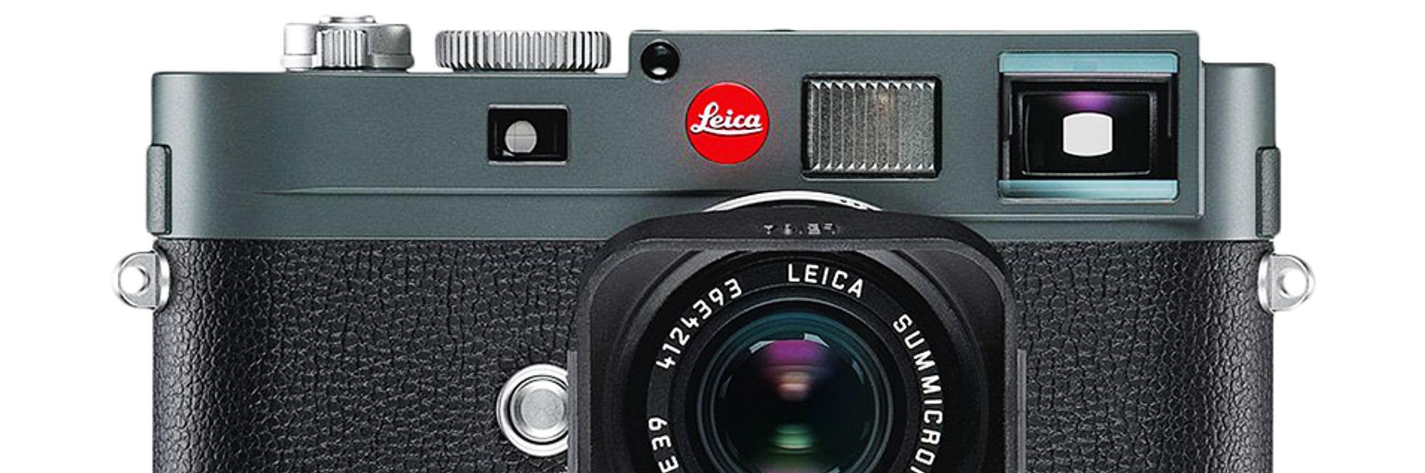 Leica M-E avduket