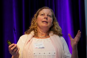 Berit Svendsen,  administrerende direktør i Telenor Norge.