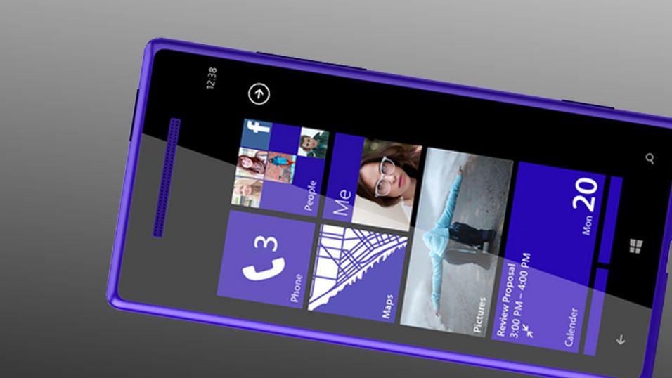 Er dette de nye Windows-telefonene fra HTC?