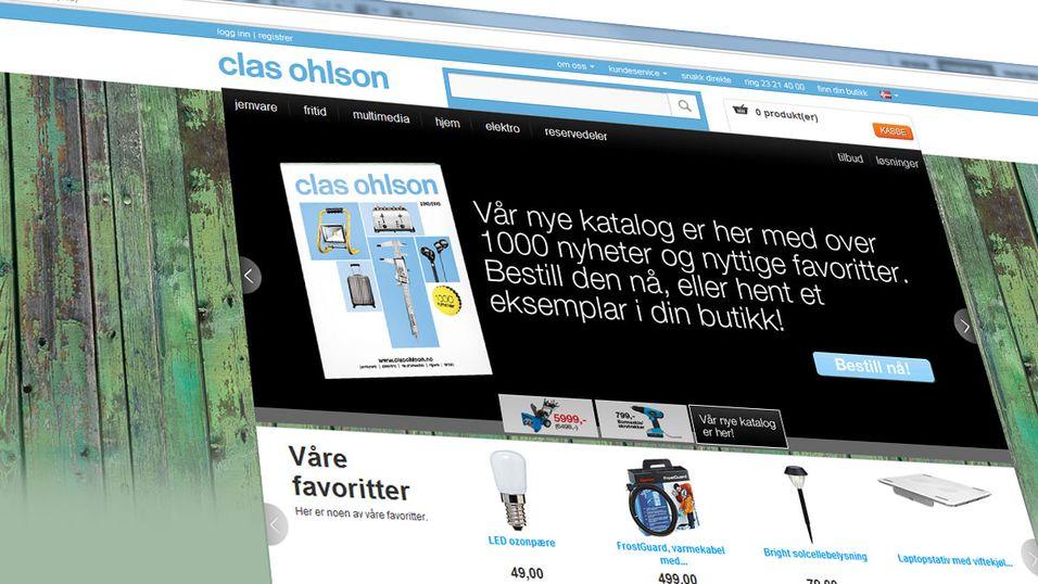 Clasohlson.no er kåret til årets nettbutikk.