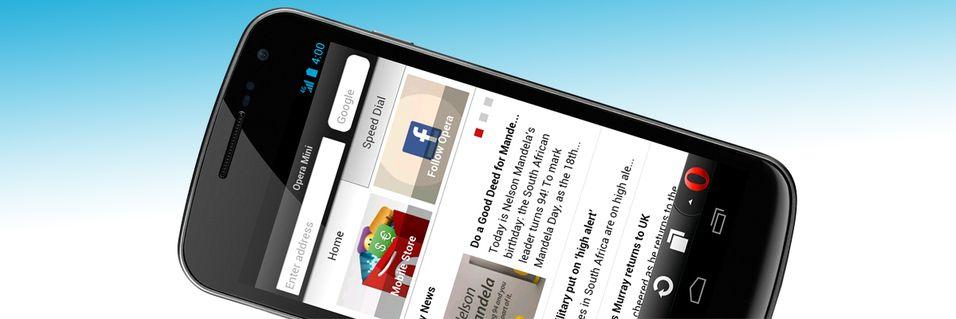 Opera Mini 7.5 for Android er lansert