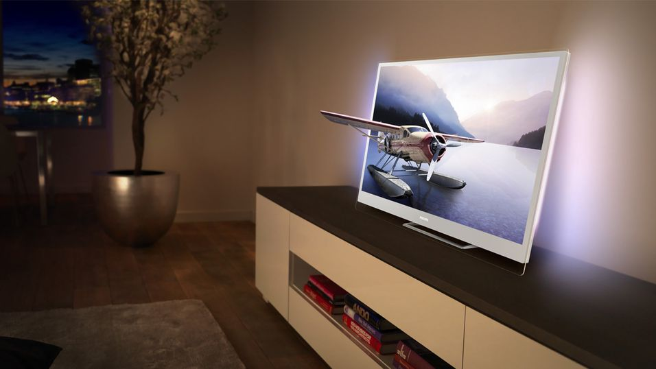 Philips nye DesignLine Edge-modell kommer med Ambilight, Smart-TV og 3D-funksjonalitet.