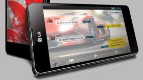 En større variant av LG Optimus G (bildet) vil bli vist på CES, ifølge ryktene. .