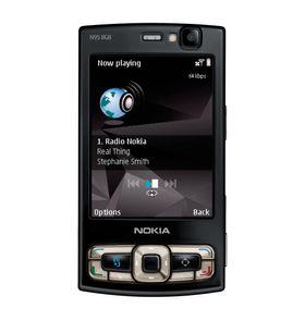 Akkurat som 6680 fikk N95 seg fort en oppgradering fra standardversjonen. Den nye het N95 8 GB, og hadde litt større skjerm og masse innebygget lagringsplass.