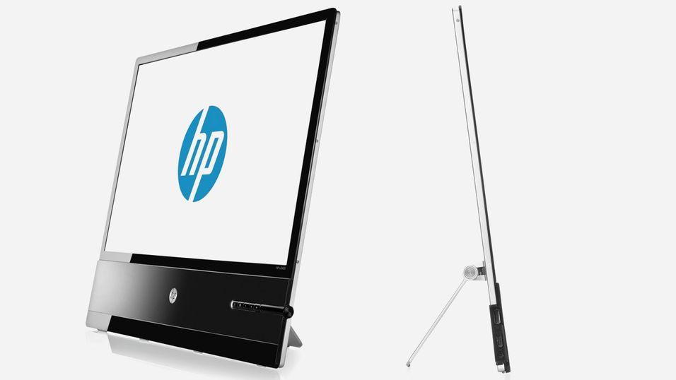 Superslank skjerm fra HP
