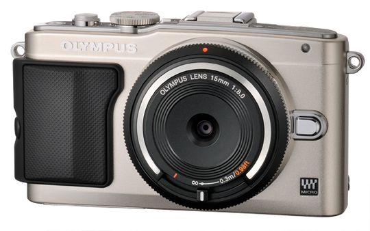 Olympus PEN E-PL5 med BCL-1580.